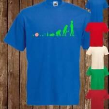 Magliette da uomo verdi ampi l