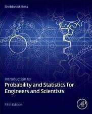New-Introduction To Probability And Statistics Engineers by Sheldon M.Ross  5ed