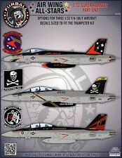 1/32 Furball F/A-18E/F Super Hornet Decals for the trumpeter Kit