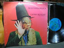 CAPTAIN BEEFHEART 2 LP TROUT MASK REPLICA turq lbl sts1053 2ms2027 bizarre RARE!