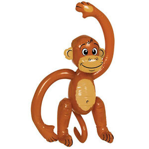 Inflatable Monkey Blow up Hawaiian inflatables Jungle Party Prop Decoration
