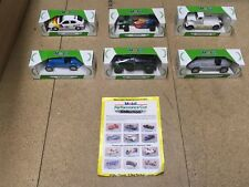 CORGI CLASSICS MOBIL PERFOMANCE CAR COLLECTION COMPLETE SET X 6 FROM 1990