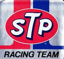 Vintage 1970's STP Racing Team NASCAR Indy Car Toolbox Window Sticker