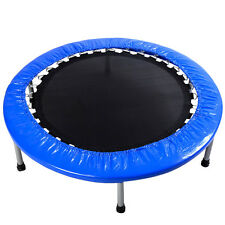 New Mini Band Trampoline 38'' Safe Elastic Exercise Workout w/ Padding & Springs