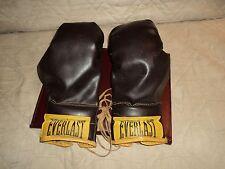 Vintage Everlast Boxing Gloves (Brown) 12 oz.