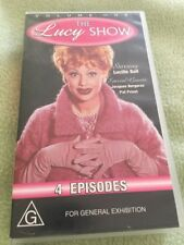 THE LUCY SHOW - VOLUME ONE - LUCILLE BALL -  4 EPISODES VHS VIDEO