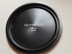 OLYMPUS OM ZUIKO 72mm METAL LENS CAP genuine original quality