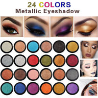 PHOERA Glitter Metal Eyeshadow Makeup Glitter Shadow Natural Eye Shadow Palette