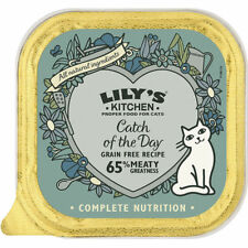 Lily's Kitchen Catch of the Day 85g Food for Adult Cats  Salmon with Prawn