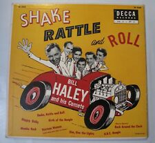 Bill Haley & Comets Shake Rattle Roll Decca 10 Inch 33.3 RPM SCARCE Above Avg