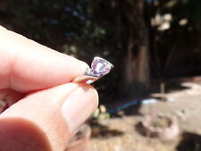 ALEXANDRITE 10K WHITE GOLD NATURAL COLOR CHANGE RING