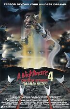 A Nightmare On Elm Street movie poster 11 x 17 inches  - Part 4 Dream Master