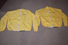 2 Camel Cigarette Joe Camel Yellow Promo Windbreaker Jacket XL