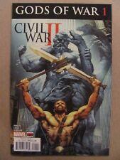 Civil War II Gods of War #1 2 3 4 Complete Marvel 2016 Series 9.6 Near Mint+