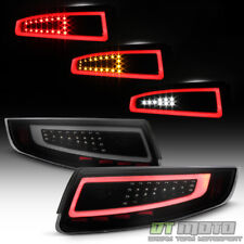 Black Smoke 2005-2008 Porsche 911 997 [Sequential Signal] LED Tube Tail Lights