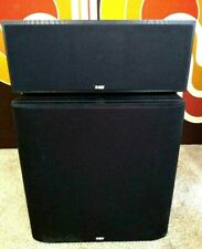 B&W Cmc Center Channel Speaker and Asw 650 Subwoofer, Bowers Wilkins Local P/U