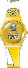 Adventure Time Children S Quartz Watch With Yellow Dial Digital Display and Yell