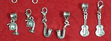 MUSIC INSTRUMENT CHARM - GUITAR - SAXOPHONE - DRUMS - FRENCH HORN - MUSICAL