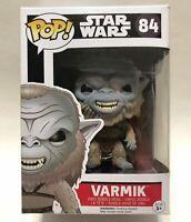NEW Funko POP! Star Wars VARMIK #84, Vinyl Bobble-Head Figure