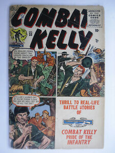 Combat Kelly #33, Good+, 2.5 (C), OWW Pages, 1955