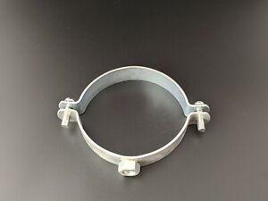 """New 100mm/4"""" Suspension Spiral Ducting Hanging Split Ring Free UK P&P"""