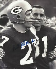 Bill Red Mack Green Bay Packers Autographed 8x10 Photo with Jim Taylor