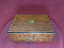 ROSEWOOD LUCKY DAY REUGE SAINTE-CROIX MUSIC BOX WITH 2 TUNE 22 NOTE MOVEMENT