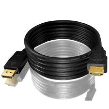 2m MLC Display Port auf HDMI Kabel / DP Konverter Kabel [ov]