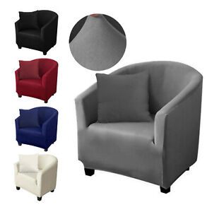Armchair Stretch Sofa Tub Chair Cover Seat Slipcover Protector Washable Covers