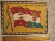 Austria-Hungary Flag National Flag large issue tobacco cigarette felt c1912 302