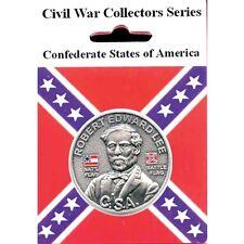CIVIL WAR CONFEDERATE STATES OF AMERICA GENERAL ROBERT E LEE COIN 13199