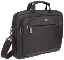14 Inch Black Slim Computer Laptop Tablet Bag Shoulder Strap Padded Carry Case