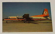 Ansett Airlines Fokker F27 Airplane Aviation Postcard  Australia