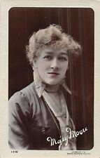 POSTCARD    ACTRESSES     MARY   MOORE