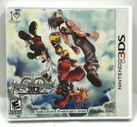 Kingdom Hearts Dream Drop Distance Nintendo 3DS Video Game Complete Tested