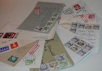 Ersttagsbriefe Umschläge Karten Schmuckbriefe Luftpost usw 50 Stück  045