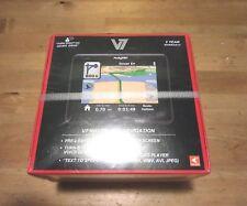 "V7 NAV730 3.5"" GPS Portable Navigation Receiver and Multimedia Player NEW SEALED"