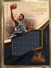 Andrew Wiggins 1/1 Jersey / Serial #d 22/99 Immaculate Patch Jersey 2016-17 NBA