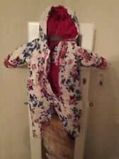 $70 Baby girl's  Rothschild  flower  Snowsuit 3-6 Month  M18