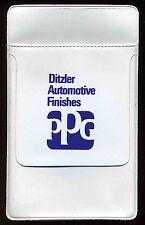 Vintage Advertising PPG Ditzler Paint Car Automotive Pen Pocket Protector