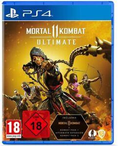 Mortal Kombat 11 Ultimate (PS4) (NEU & OVP) (UNCUT) (Blitzversand)