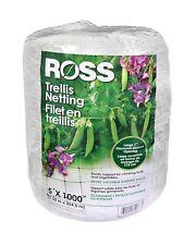 Ross Trellis Netting 5 By 1000-Feet Garden Netting In16300
