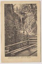 Isle of Wight postcard - Shanklin Chine, IOW - P/U 1916 (A262)