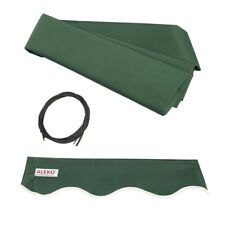 ALEKO Fabric Replacement For 13x10 Ft Retractable Awning Green Color