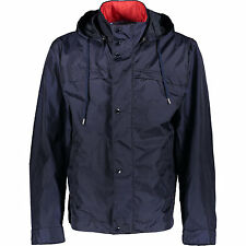 Paul & SHARK TYPHOON Blue Coat Parka con cappuccio staccabile L RRP £ 550