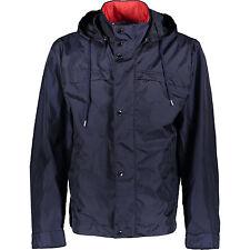 PAUL & SHARK Blue Coat Parka Jacket With Detachable Hood L IT50-52 RRP £550