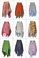 Women Swimwear Bikini Cover Up Beach Sarong Dress Sari Casual Wrap Skirt Silk