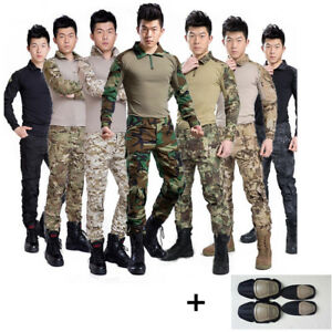Airsoft Tactical Gen3 G3 Combat Suit Shirt Pants Special Forces BDU Uniform SWAT