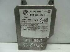 Volkswagen Beetle 1999 / 2006 SRS Control Module ECU 6Q0909605A WARRANTY 1212517
