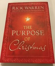 The Purpose of Christmas by Rick Warren (2008, Hardcover)